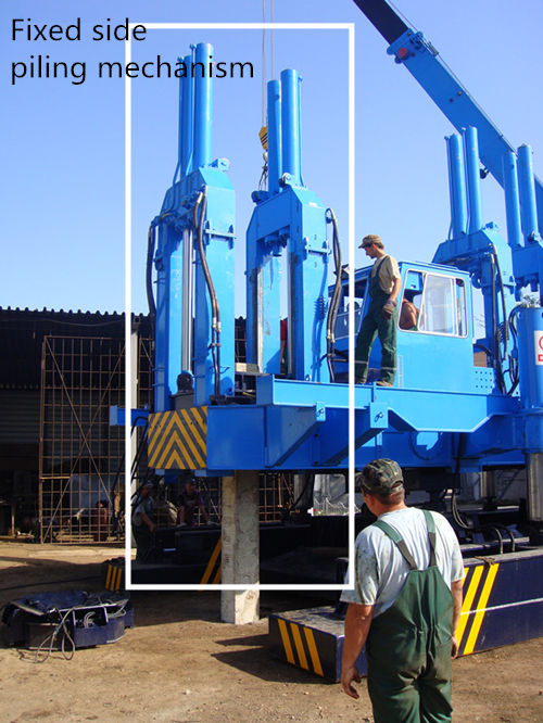 Silent Hydraulic Rotary Piling Rig High Efficiency SGS Certification