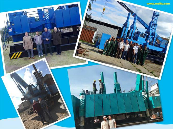 ZYC460 Hydraulic Static Pile Pressing Machines For Precast Pile Driving Of Foundation 3