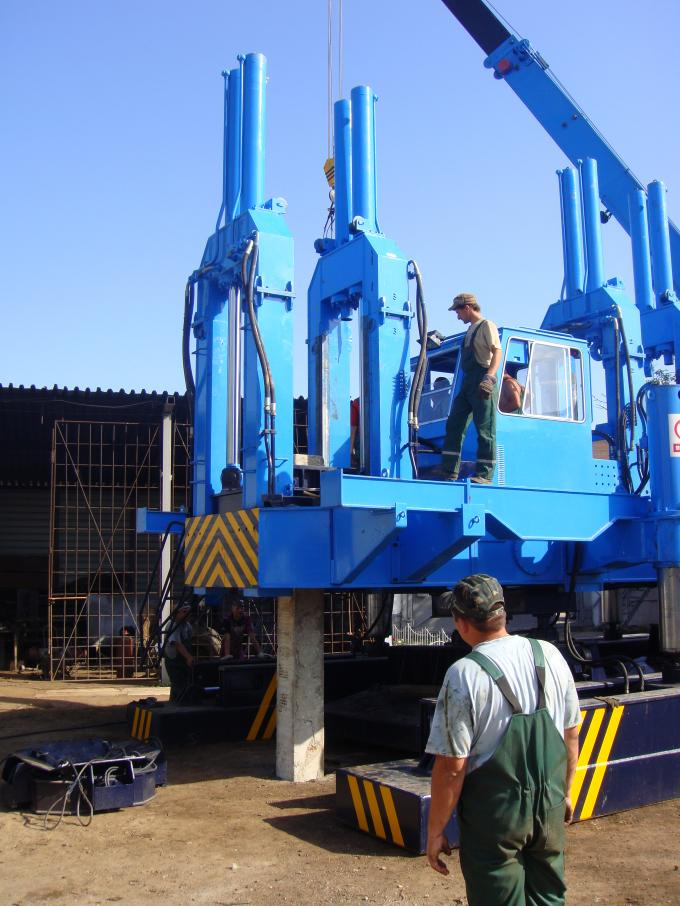 ZYC460 Hydraulic Static Pile Pressing Machines For Precast Pile Driving Of Foundation 1