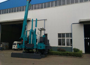 China Small Hydraulic Piling Machine , Mini Pile Driving Equipment Energy Saving supplier