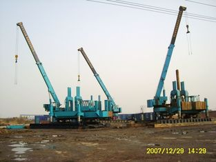 China High Efficiency Hydraulic Hammer Pile Driving For Concrete Pile Foundation supplier