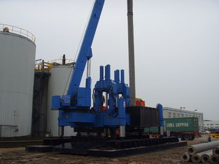 China Eco Hydraulic Piling Machine / Hydraulic Rotary Piling Rig No Vibration supplier
