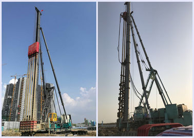 Excavator Mounted Pile Driving Equipment