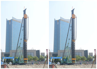 Multi Drilling Bore Pile Machine , Excavator Pile Driver For 34 Meters Max Depth
