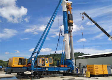 1200mm Max Stroke Hammer Piling Machine , Drop Hammer Piling Rig