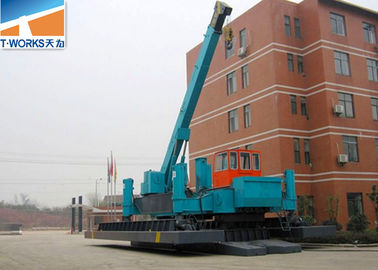 China Silent Pile Foundation Equipment 700 Ton Customized Color 1 Year Warranty supplier