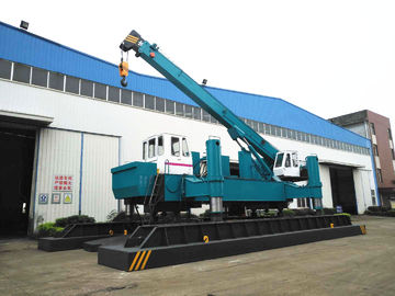 ZYC460 Hydraulic Static Pile Driver , Pile Drilling Equipment 16T Crane