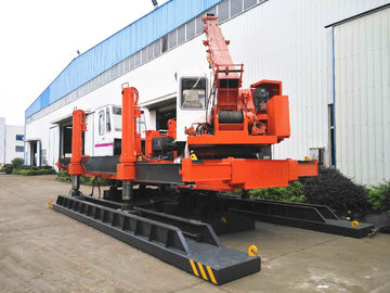 Small ZYC120 Hydraulic Static Pile Driver Machine For PHC Pile With One Year Warranty