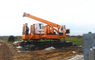 6.5m/Min Hydraulic Static Pile Driver For Vibration Regulated Areas