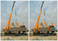 High Speed Hydraulic Static Pile Driver 141KW Piling Power Unique Design