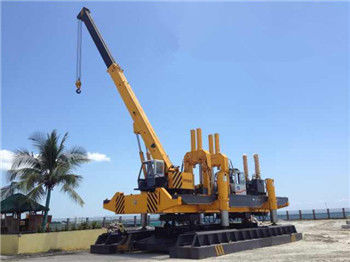 China Rotary Hydraulic Piling Machine Fast Piling Speed 500T Piling Capacity factory