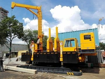 China Concrete Hydraulic Pile Driving Machine , Pile Foundation Drilling Machine factory