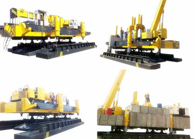 China 860T PHC Concrete Pile Driving Equipment Fast Pressing Speed Eco - Friendly factory
