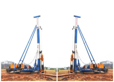 China 3T-13T Hammer Piling Machine , Sheet Pile Driving Equipment OEM Service factory