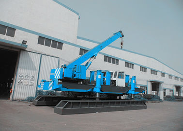 China Eco Hydraulic Piling Machine For Building Construction High Piling Speed factory