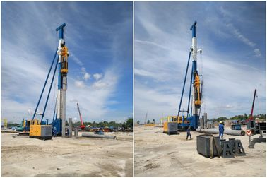 China OEM Pile Hammer Equipment For High Productivity Pile Driver Foundation distributor