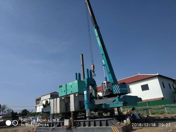 China ZYC80 Hydraulic Static Pile Driver For Narrow Project PHC Round Or Square Pile distributor