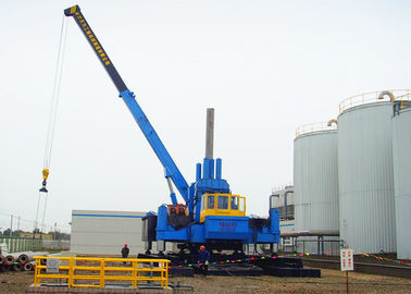 China High Speed Hydraulic Pile Driving Machine For Soft Soil Pile Foundation factory