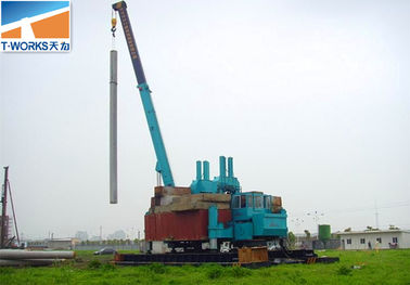 China No Vibration Pile Foundation Equipment , Foundation Drilling Machine factory