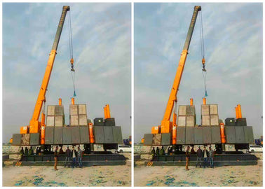 China High Speed Hydraulic Static Pile Driver 141KW Piling Power Unique Design distributor