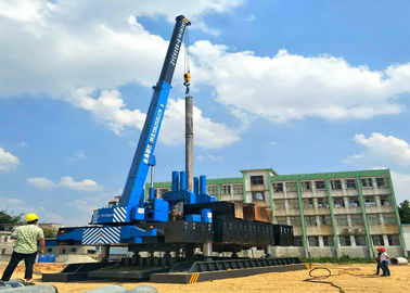 China Silent Hydraulic Rotary Piling Rig High Efficiency SGS Certification distributor