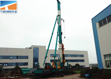 China Crawler Hydraulic Breaker Hammer Fast Piling Speed Customized Color distributor
