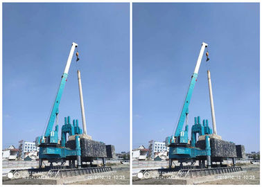 China No Pollution Construction Piling Machine ZYC150 High Piling Speed factory