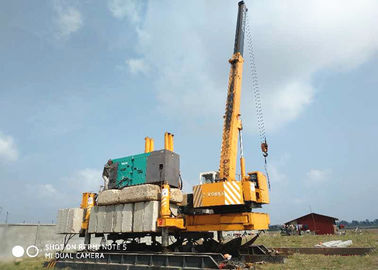 China Concrete Hydraulic Static Pile Driver , Square Pile Driving Equipment factory