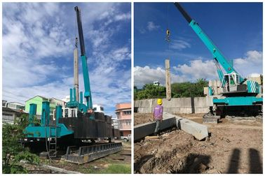 China Hydraulic Pile Foundation Equipment , Pile Pressing Machines OEM Service factory