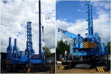 China Hydraulic Rotary Piling Rig 16T Lifting Crane Environmental Protection factory