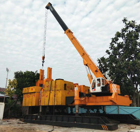 China Yellow Color Jacking Pile Pressing Machines For Phc Pile Piling Foundation factory