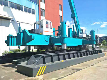 China Concrete Pile Jack In Machine For Piling , Small Piling Machine ZYC460 distributor