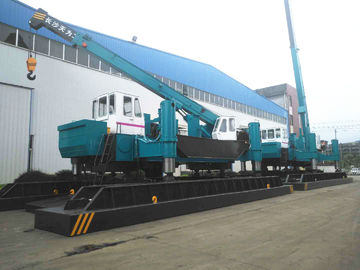 China ZYC460 Pile Pressing Machines , Blue Pile Foundation Machine For Phc Pile distributor
